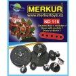 Merkur doplňkové náhradní díly a sady
