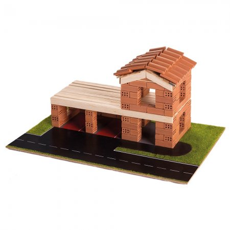 Trefl Brick Trick - Stavějte z cihel - Hasičská stanice
