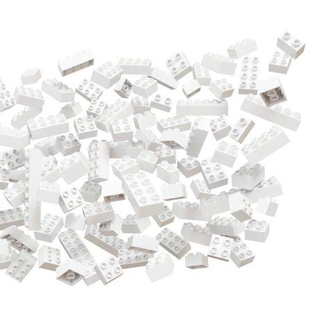 Hubelino Kuličková dráha - kostky bílé - 120 ks