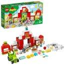 LEGO Duplo 10952 - Stodola, traktor a zvířátka z farmy