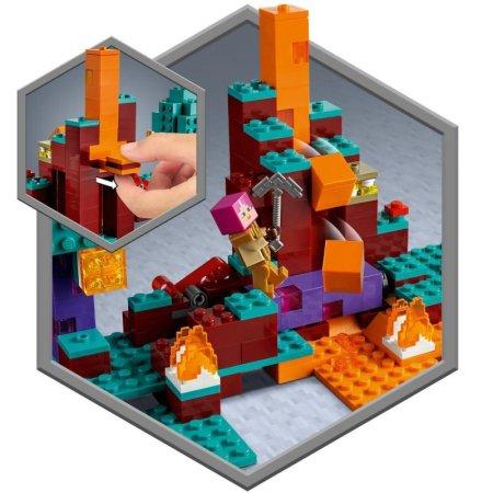 LEGO Minecraft 21168 - Podivný les