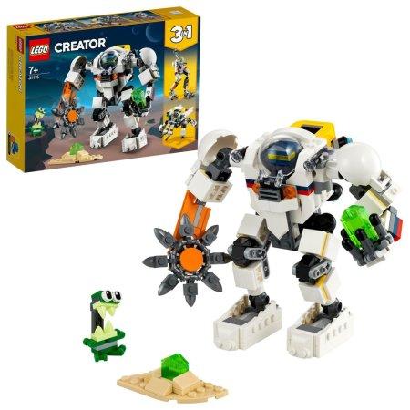 LEGO Creator 31115 - Vesmírný těžební robot 3v1