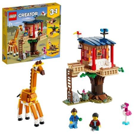 LEGO Creator 31116 - Safari domek na stromě 3v1