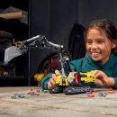 LEGO Technic 42121 - Těžkotonážní bagr 2v1