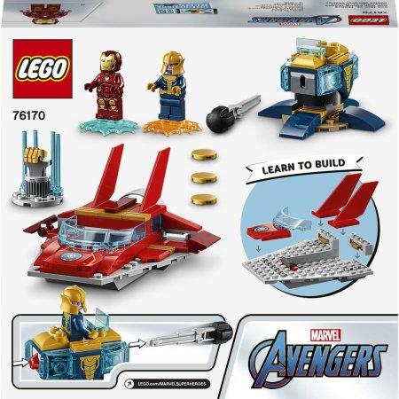 LEGO Super Heroes 76170 - Iron Man vs. Thanos