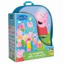 Liscianigioch Peppa Pig - Batoh s kostkama Baby Blocks