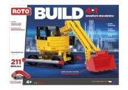 Efko Stavebnice Roto 4v1 - BUILD - 211 dílků