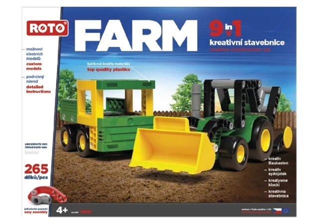 Efko Stavebnice Roto 9v1 - FARM - 265 dílků