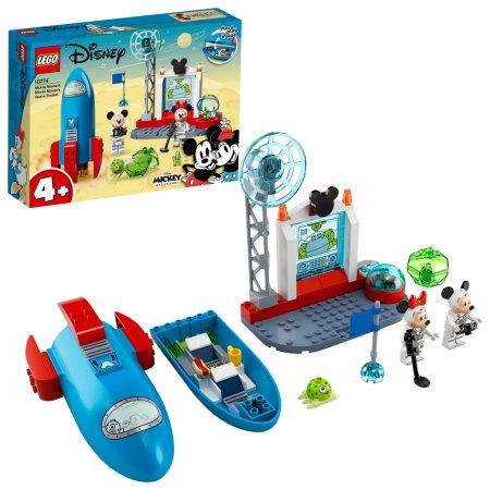 LEGO Disney 10774 - Mickey & Friends: Myšák Mickey a Myška Minnie jako kosmonauti