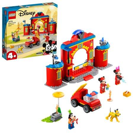 LEGO Disney 10776 - Mickey & Friends: Hasičská stanice aauto Mickeyho přátel