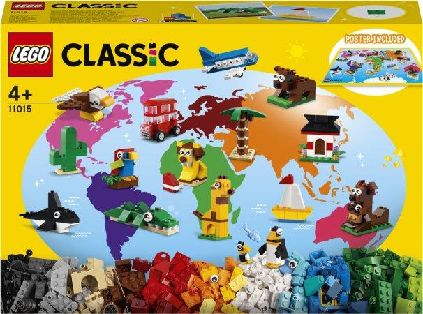 LEGO Classic 11015 - Cesta kolem světa