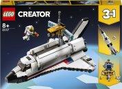 LEGO Creator 31117 - Vesmírné dobrodružství s raketoplánem 3v1