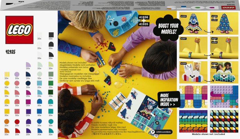 LEGO DOTS 41935 - Záplava DOTS dílků