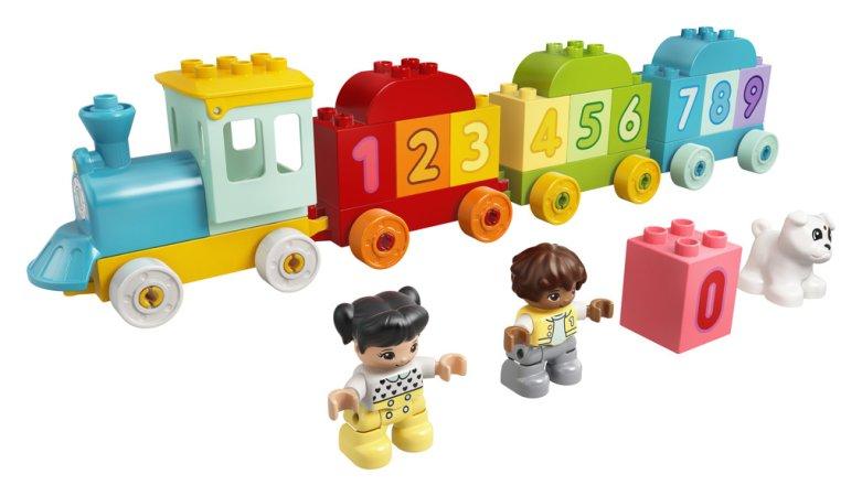 LEGO Duplo 10954 - Vláček s čísly - Učíme se počítat