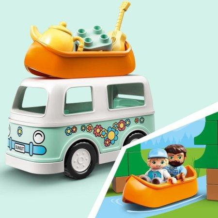 LEGO Duplo Town 10946 - Dobrodružství vrodinném karavanu
