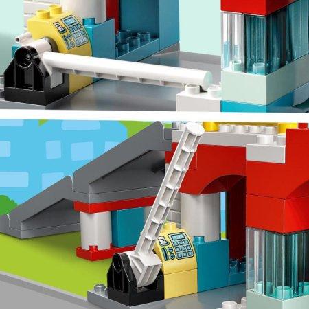 LEGO Duplo Town 10948 - Garáž a myčka aut