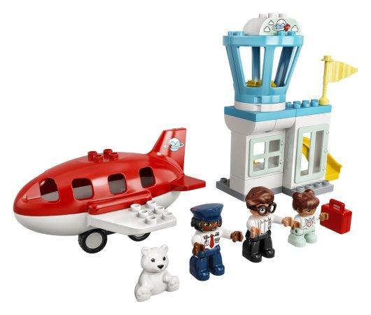 LEGO Duplo Town 10961 - Letadlo a letiště
