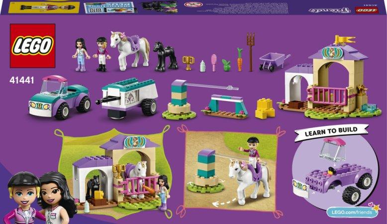 LEGO Friends 41441 - Auto s přívěsem a výcvik koníka