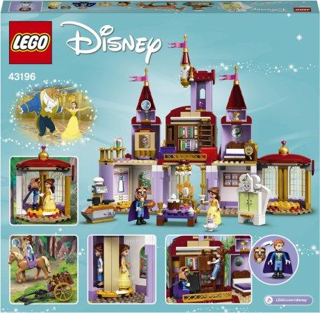 LEGO Disney Princess 43196 - Zámek Krásky azvířete