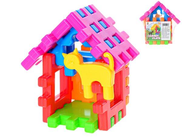 Mikro trading Konstrukt - Stavební kostky - Domeček pro mazlíčky