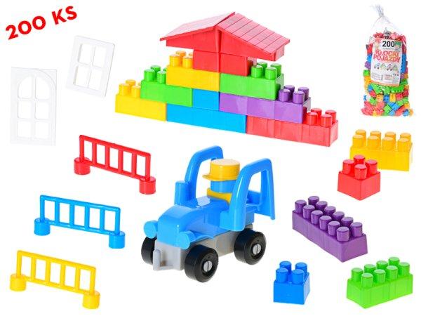 Mikro trading Kostky stavební - 200 ks