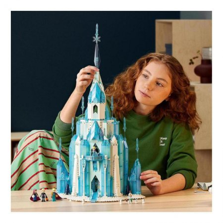 LEGO Disney 43197 - Ledový zámek