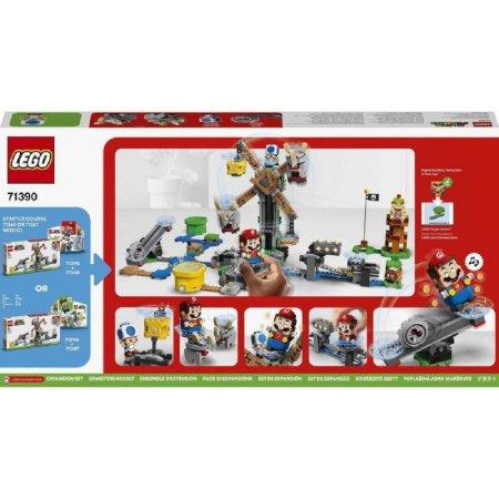LEGO Super Mario 71390 - Boj s Reznorem – rozšiřující set