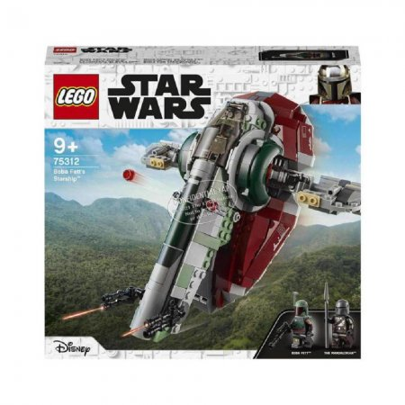 LEGO Star Wars 75312 - Boba Fett a jeho kosmická loď
