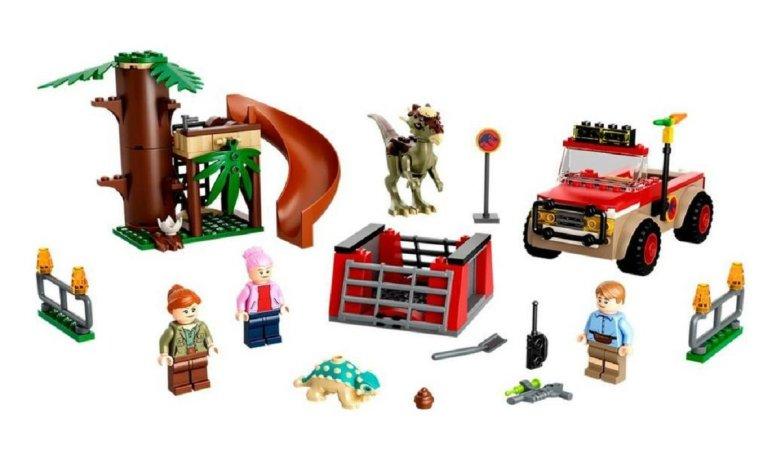 LEGO Jurassic World 76939 - Útěk dinosaura Stygimolocha