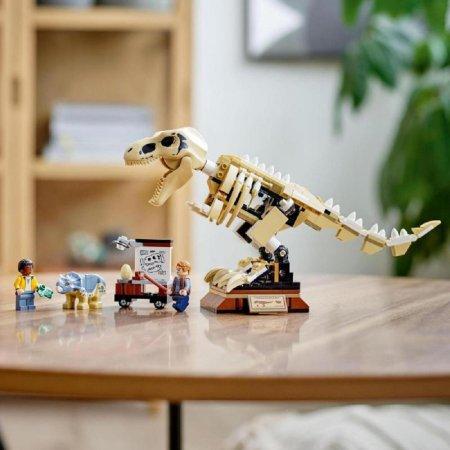 LEGO Jurassic World 76940 - Výstava fosílií T-rexe