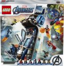 LEGO Marvel Avengers 76166 - Boj ve věži Avengerů