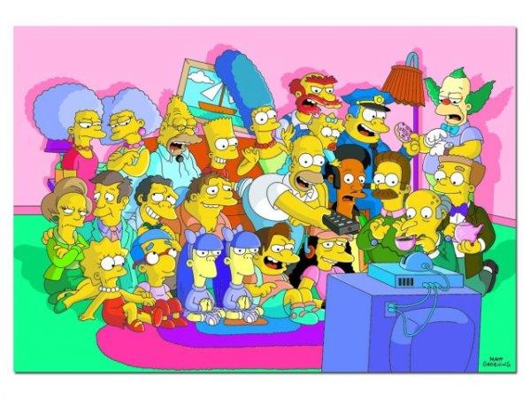 Educa Puzzle - Simpsons - 1000 dílků