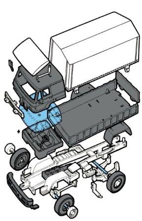 Seva Monti System Liaz - Camion Express MS 28