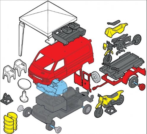 Seva Monti System Renault - Enduro MS 49