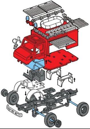 Seva Monti System Mercedes - Fire Brigade MS 16