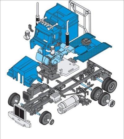 Seva Monti System Western Star - Racing Truck MS 43