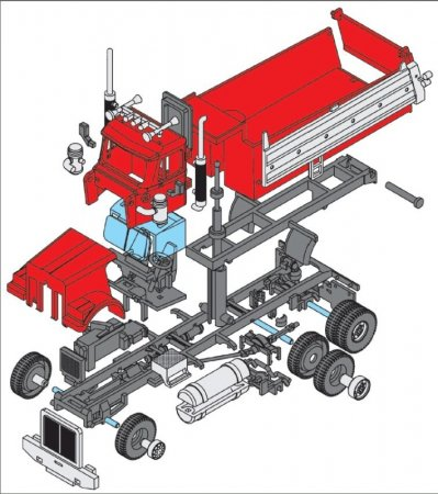 Seva Monti System Western - Dumper Truck MS 44