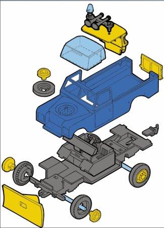 Seva Monti System Terénní auto - Technic Service MS 01