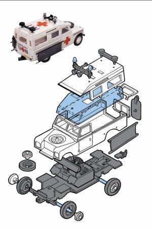Seva Monti System Terénní auto - Unprofor Ambulance MS 35