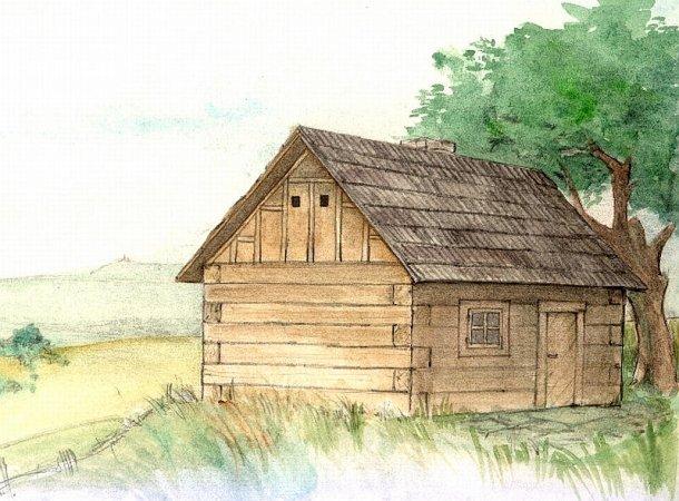 Walachia Stavebnice Walachia - Roubená chaloupka