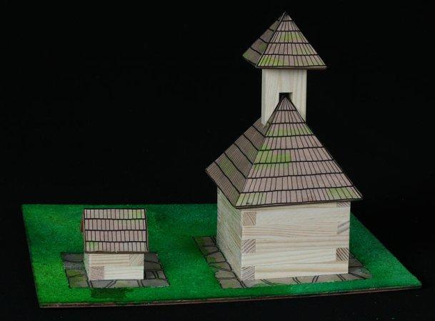 Walachia Stavebnice Walachia - Zvonice a studna