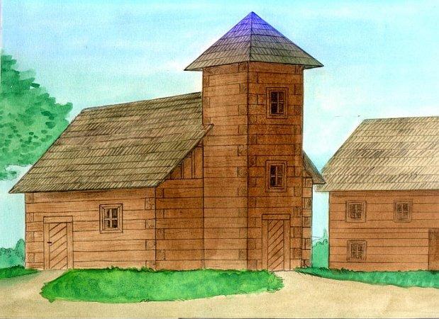 Walachia Stavebnice Walachia - Kostel