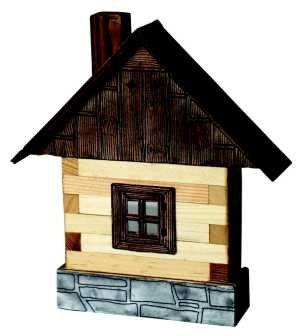 Walachia Stavebnice Walachia - Domečky na zeď - Chaloupka