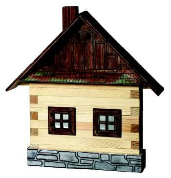 Walachia Stavebnice Walachia - Domečky na zeď - Chalupa