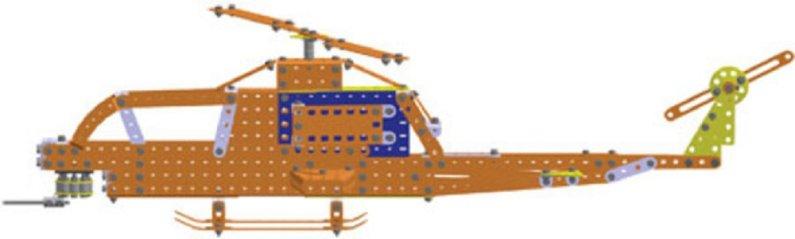 Merkur Stavebnice Merkur - Kitty Hawk - 900 ks