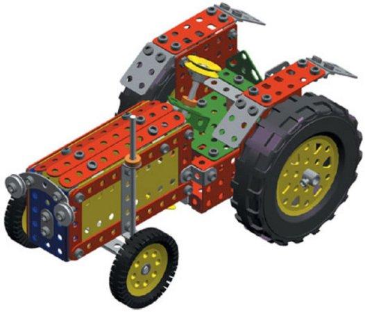 Merkur Stavebnice Merkur - Farmer set - 341 ks