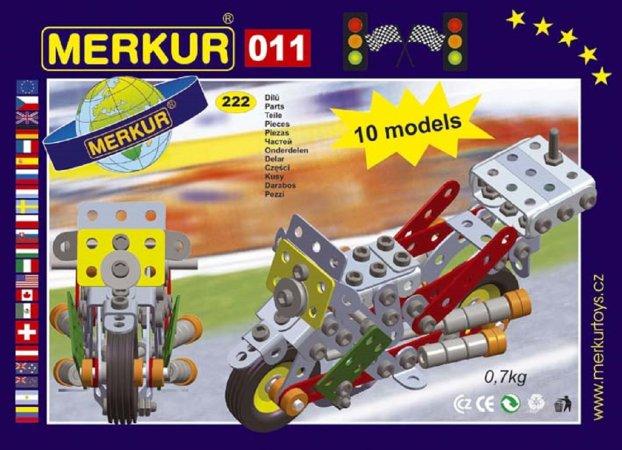 Merkur Stavebnice Merkur - M 011 Motocykl - 230 ks