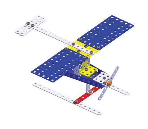 Merkur Stavebnice Merkur - M 014 Letadlo - 119 ks