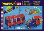Merkur Stavebnice Merkur - M 032 Železniční modely - 300 ks