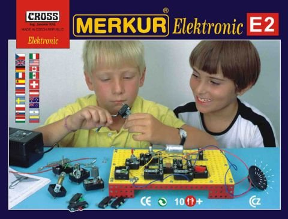 Merkur Stavebnice Merkur - Elektromerkur E2 Elektronika